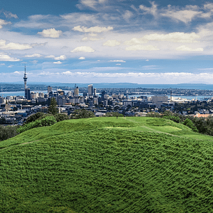 View of Auckland City New Zealand