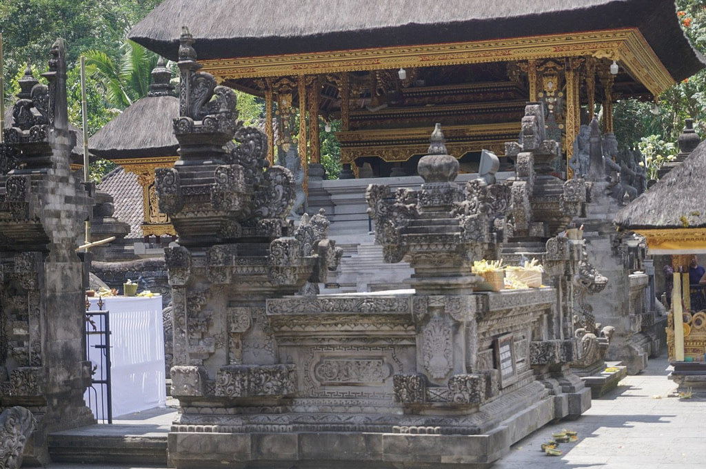 exterior of temple in Bali
