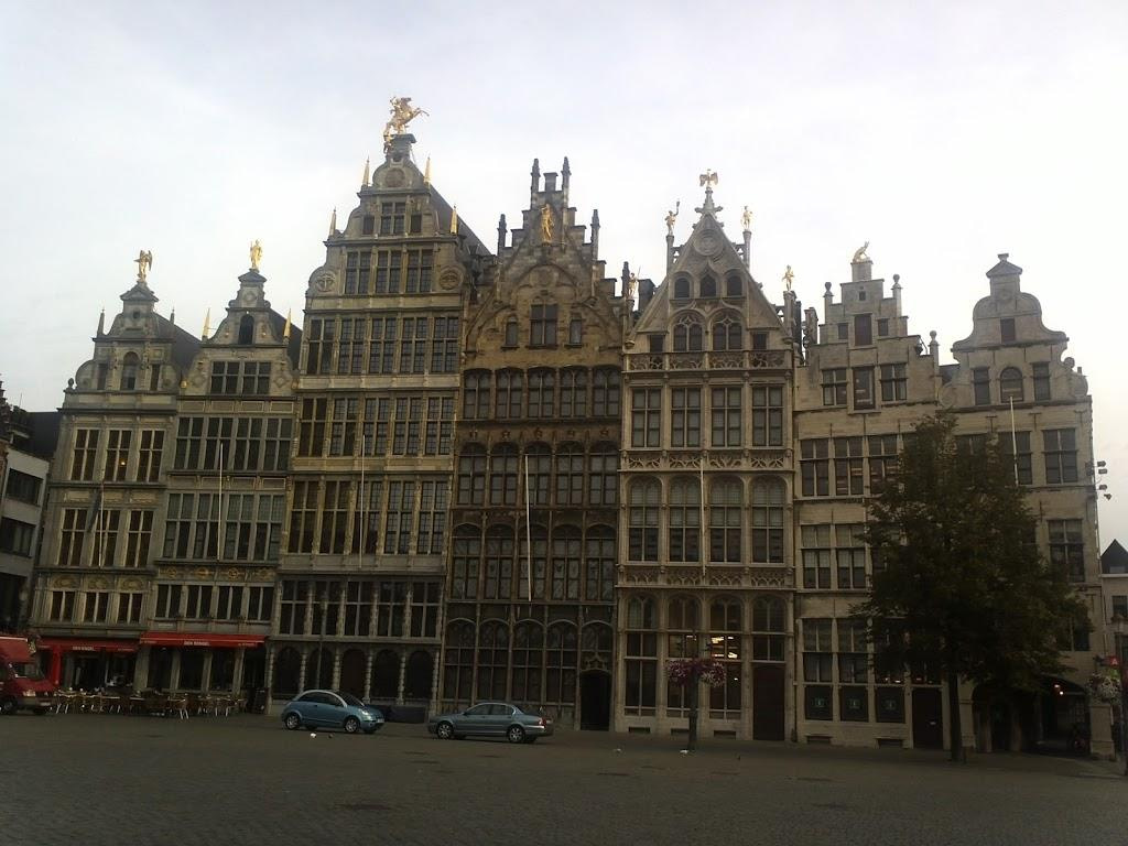 16th-century Guildhouses at the Grote Markt