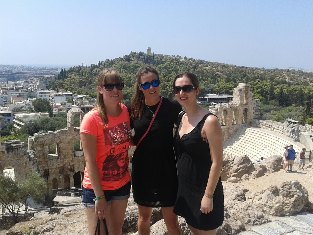 Athens Greece with friends