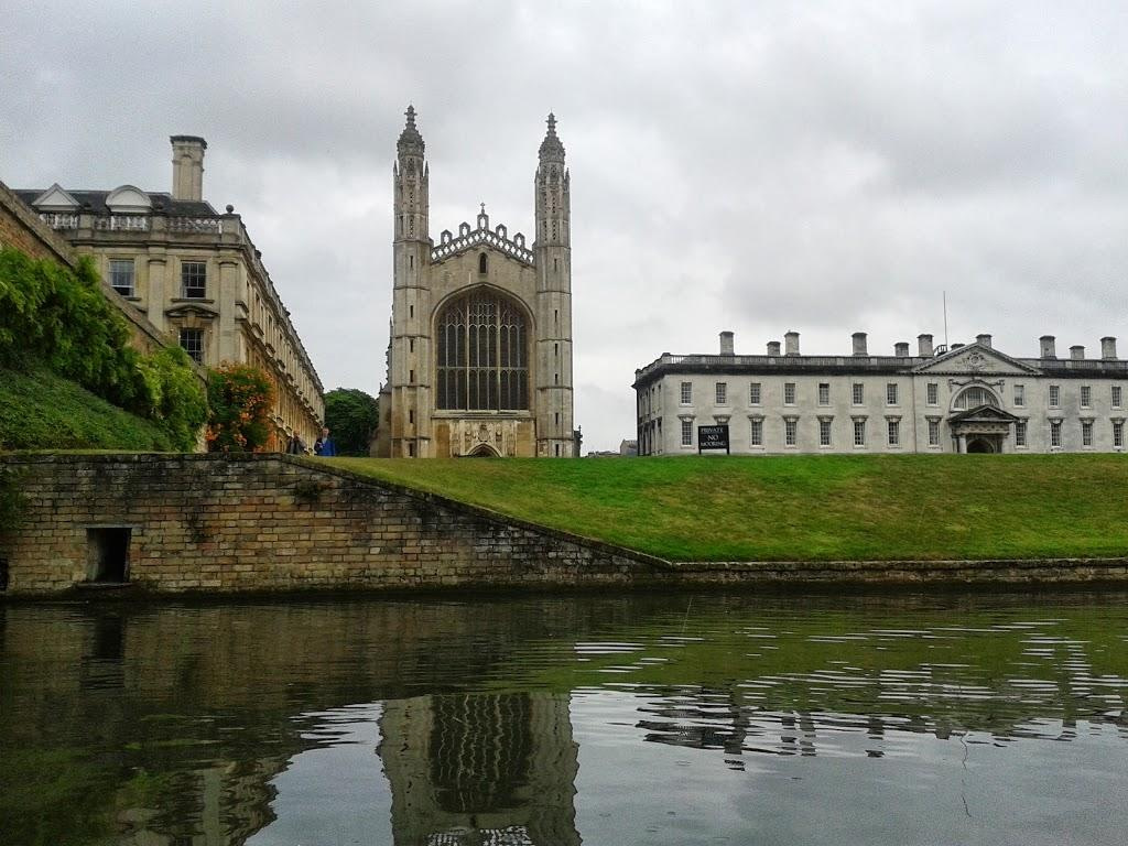 Cambridge from the river