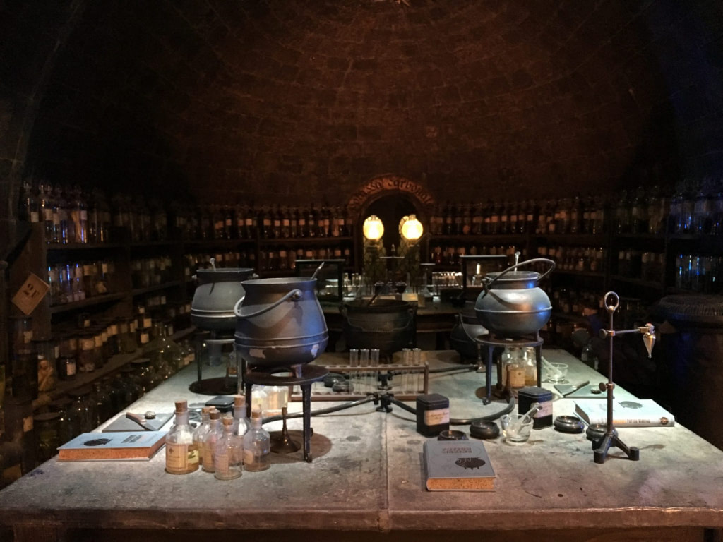 props from Harry Potter movie on display