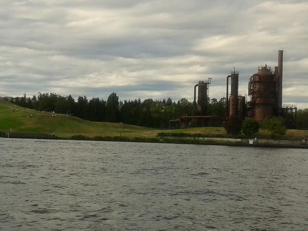 Gas works from Union Lake spending one day in Seattle
