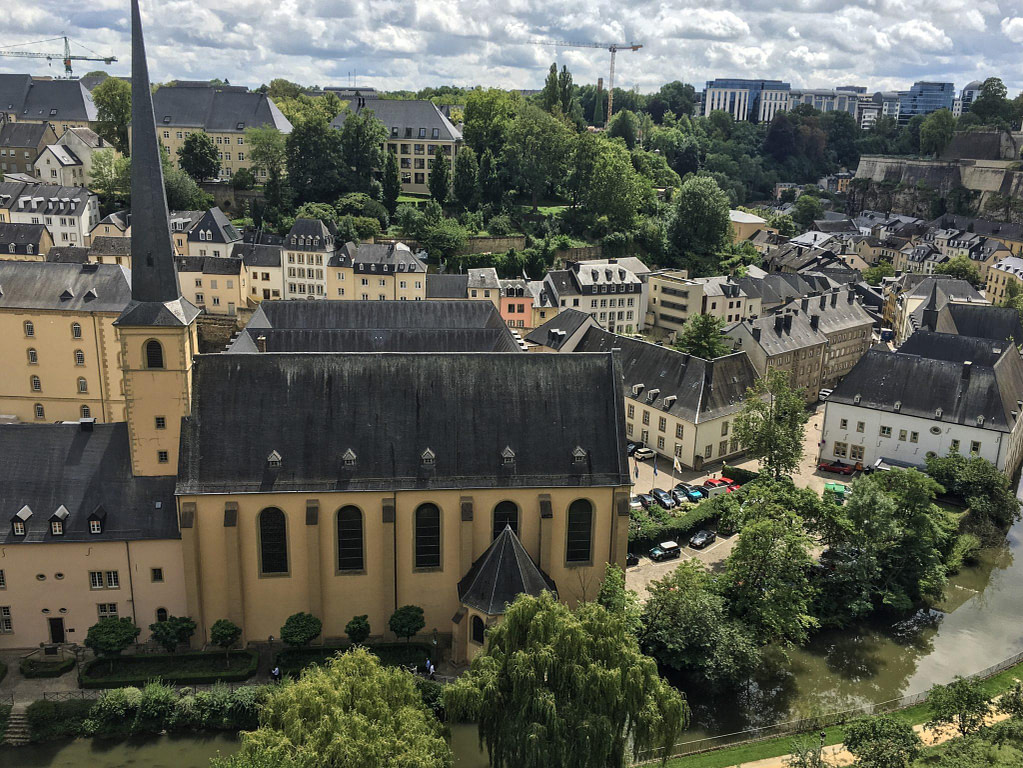 Luxembourg City view during 48 hours in Luxembourg