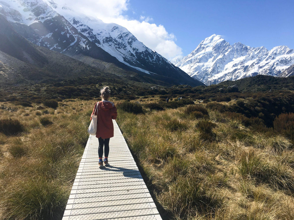 Hooker Valley Track Hike in New Zealand