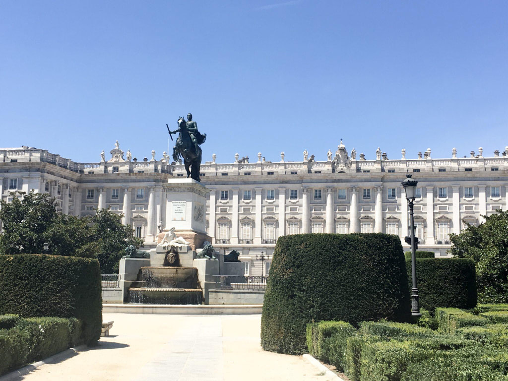 Favourite places Madrid Palace