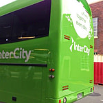 Taking the InterCity bus in New Zealand