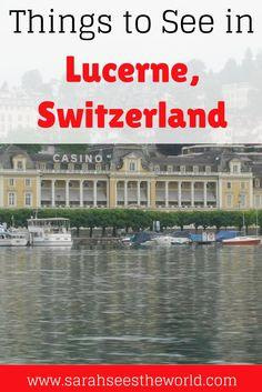 Things to see in Lucerne
