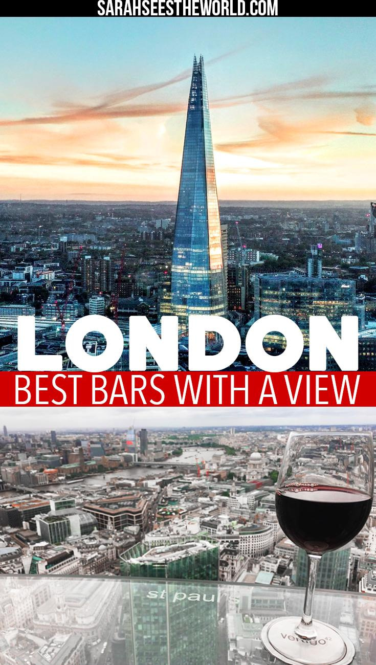best bars with a view in london