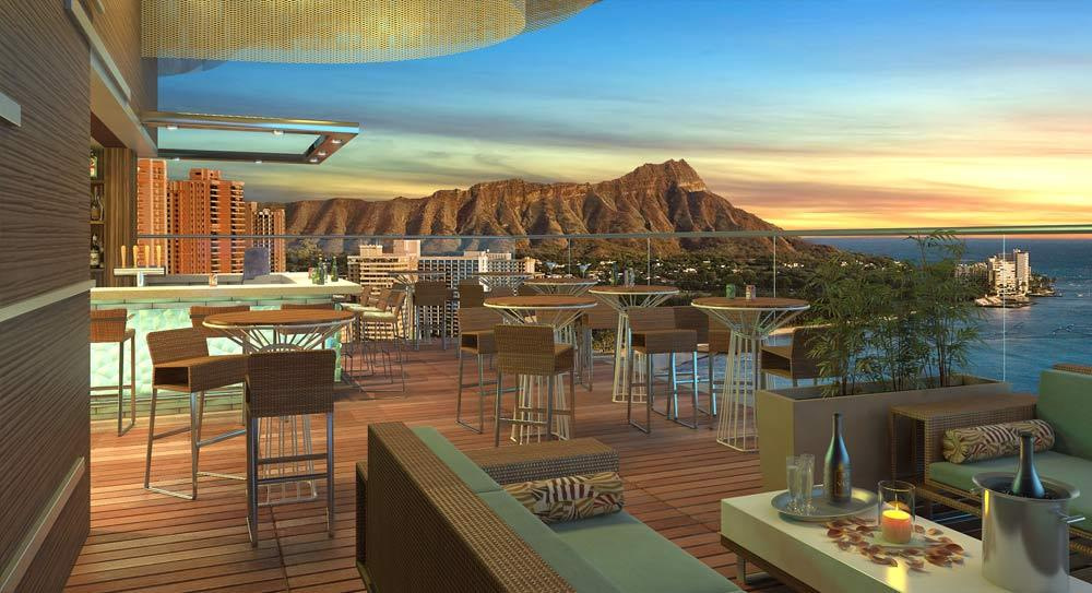 skybar waikiki hawaii from heights