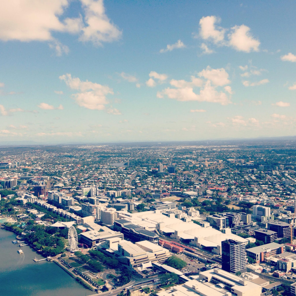 Brisbane from above