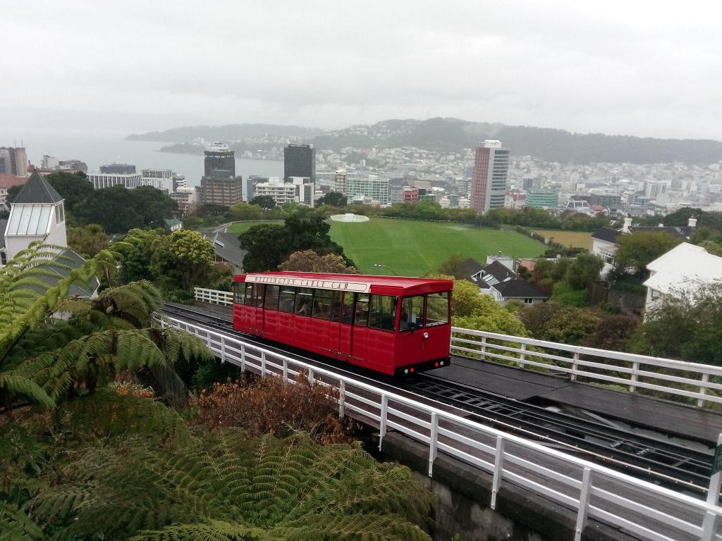 Things to do in Wellington Cable Car