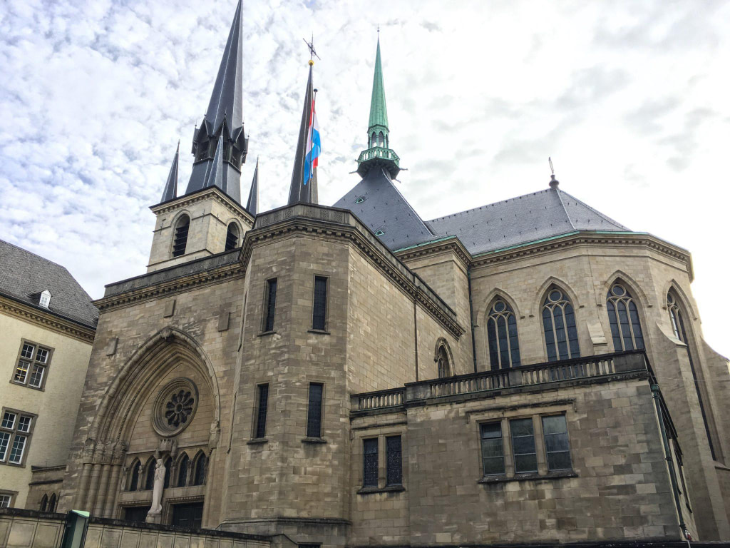 Notre Dame Cathedral Luxembourg