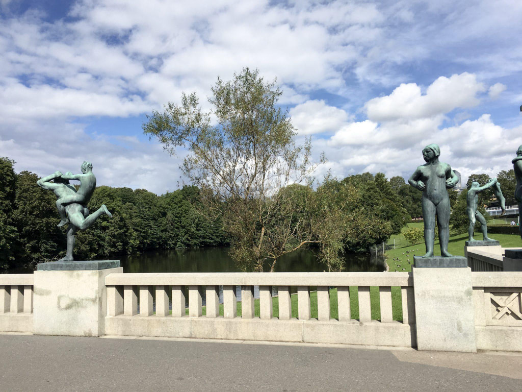 the vigeland park things to see in Oslo