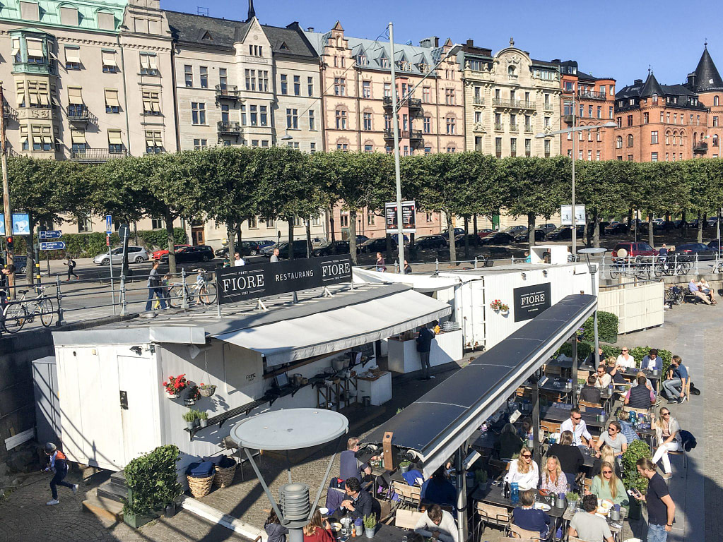 24 hours in Stockholm Harbour Cafe
