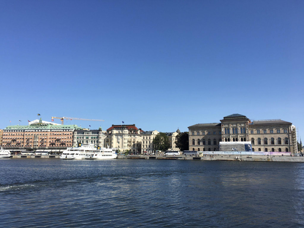 24 hours in Stockholm waterfront
