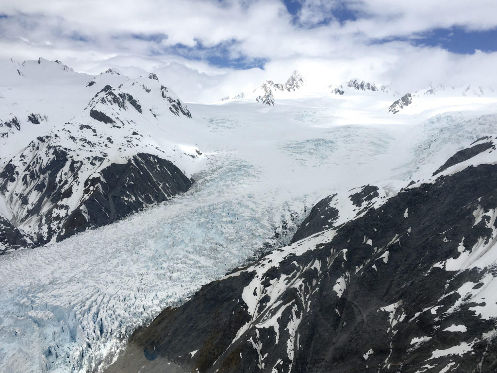 View on Franz Josef helicopter Scenic Flight over Glacier