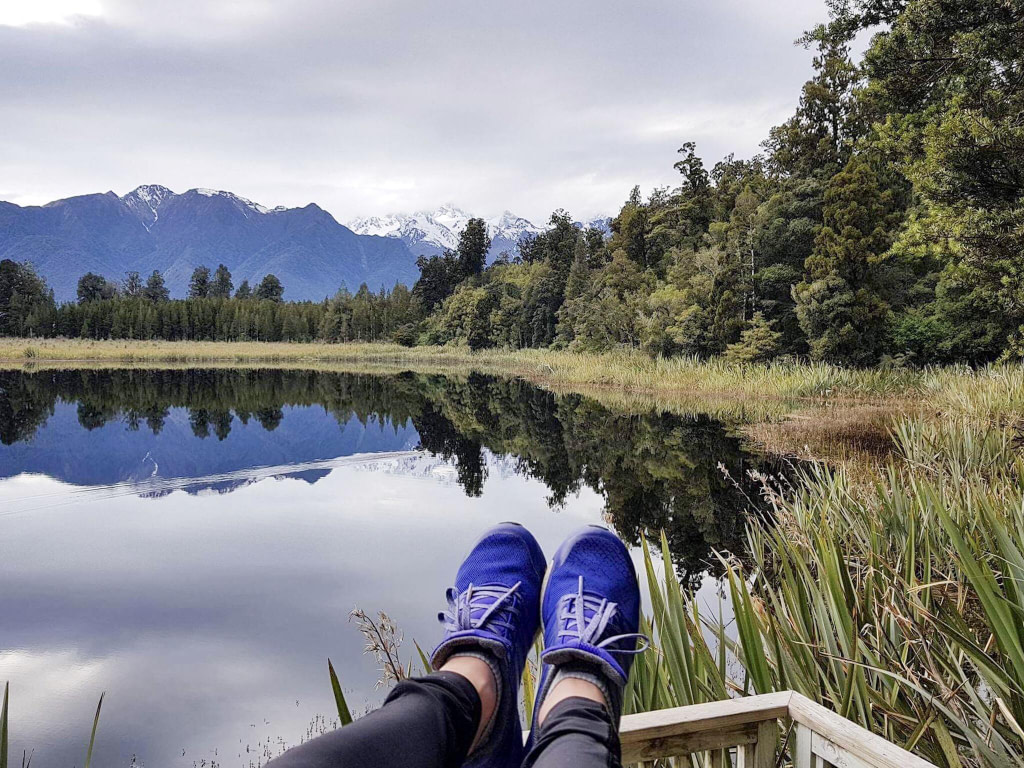 lake matheson wild kiwi tours new zealand