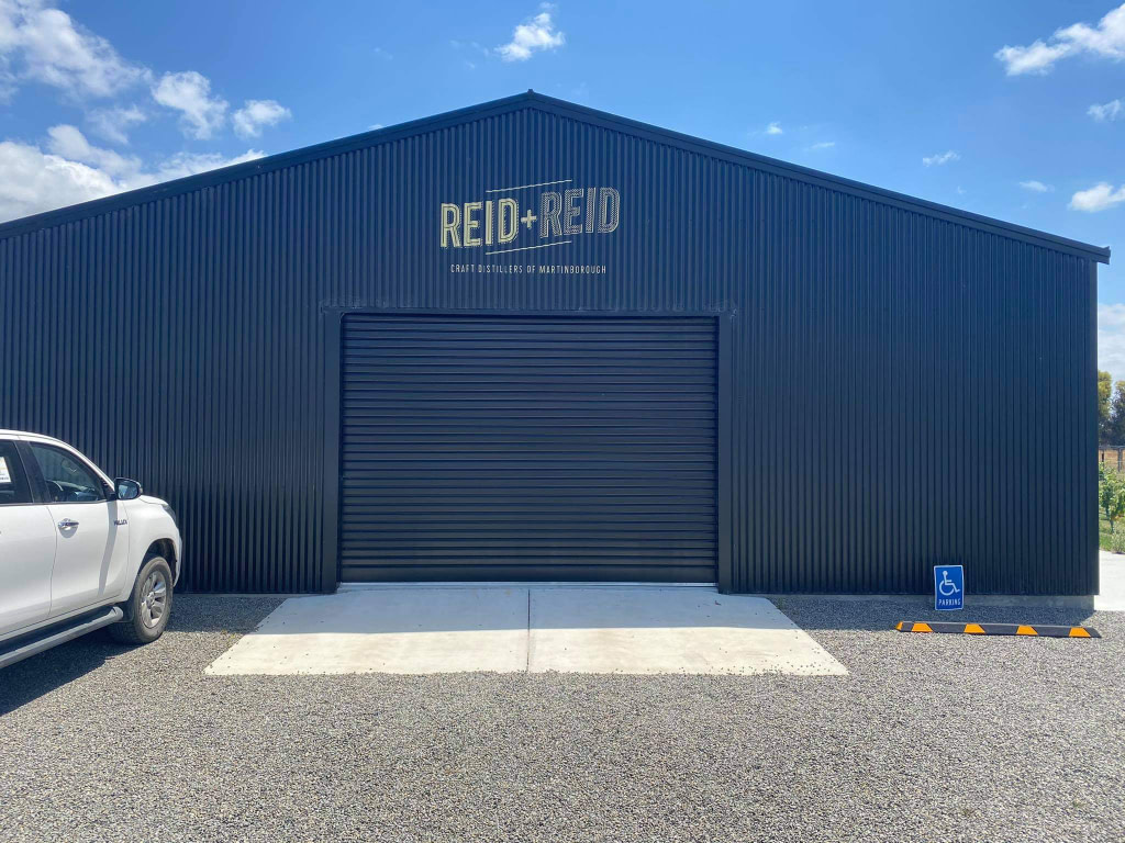 reid + reid Martinborough gin distillery exterior