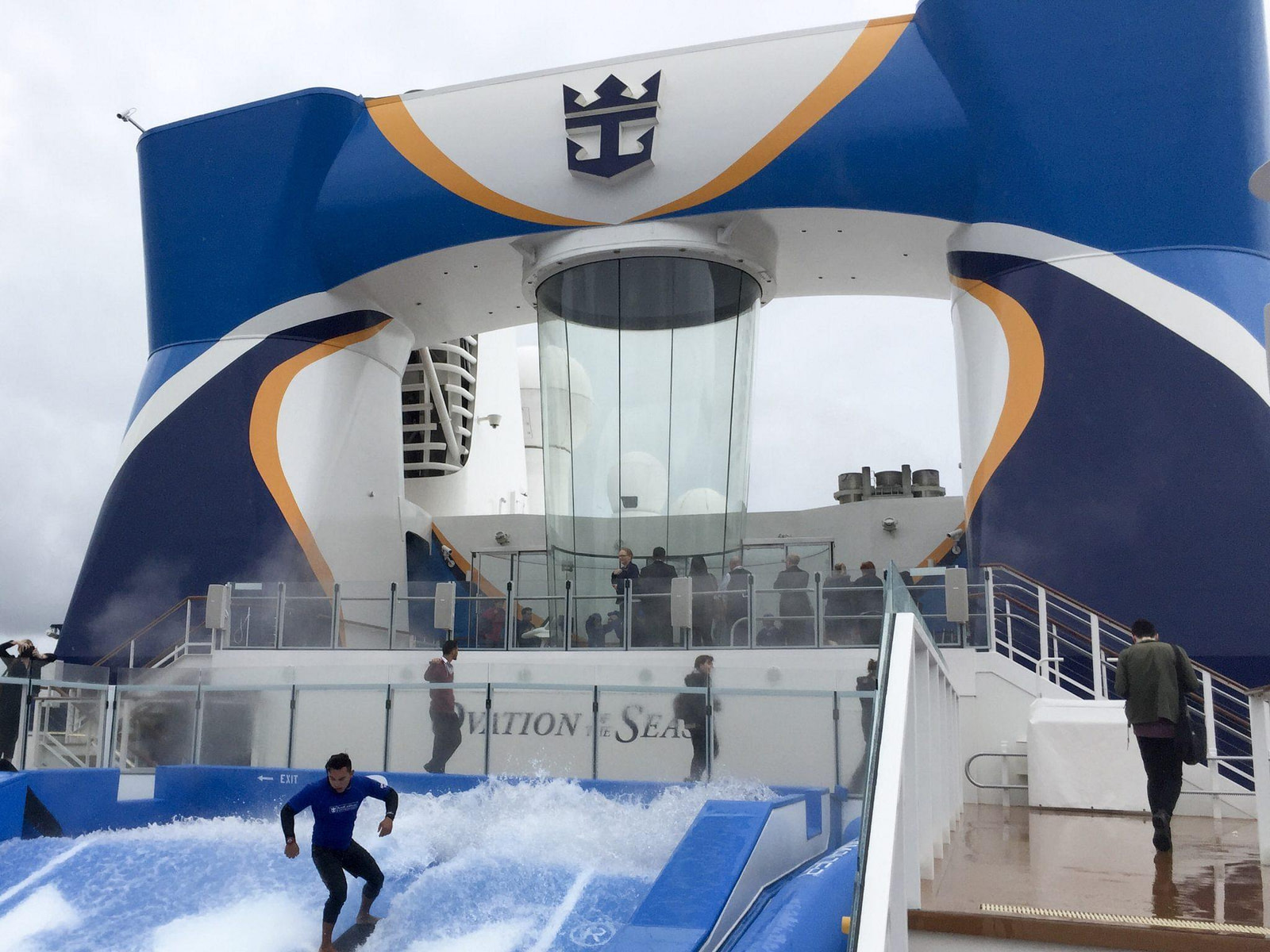 Ovation of the Seas Sky Dive and Surf