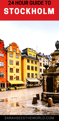 24 hour guide to stockholm pinterest