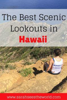 best scenic lookouts in Hawaii