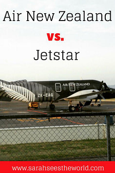 Air nz or jetstar