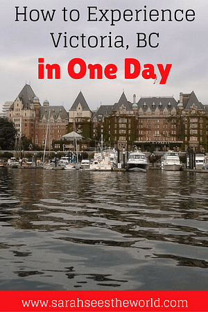 one day in victoria bc