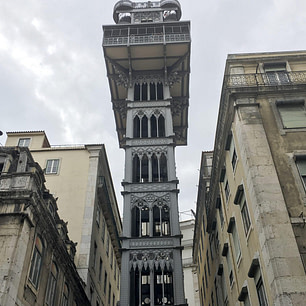 Santa Justa Lift thoughts on Lisbon
