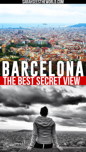 the best secret view in barcelona