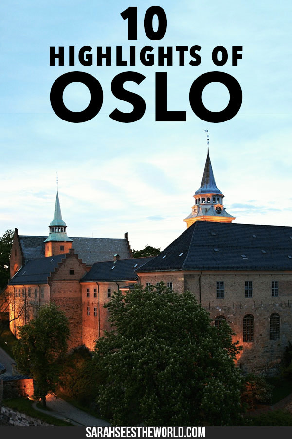 10 highlights of oslo pinterest pin
