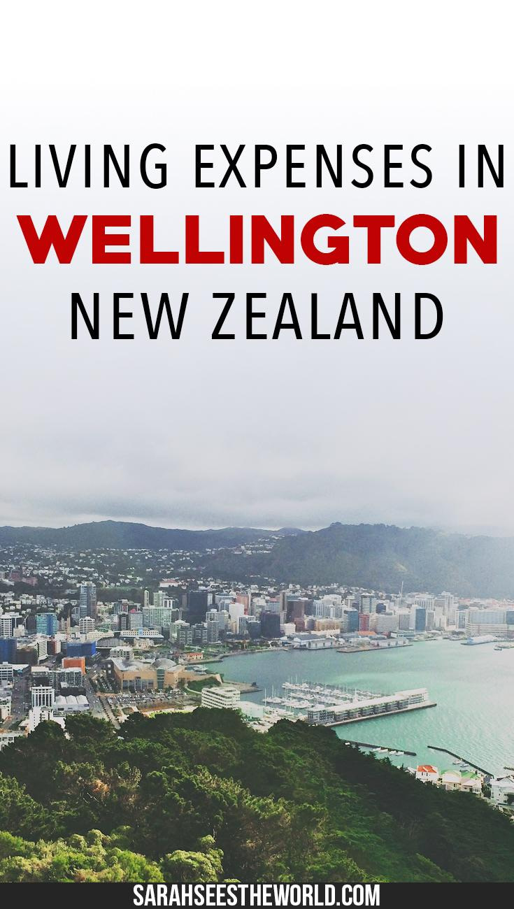 living expenses in Wellington pinterest