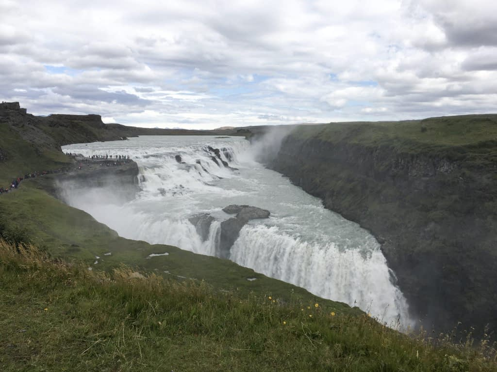 Gullfoss Waterfall Golden Circle Iceland Reykjavik day trips
