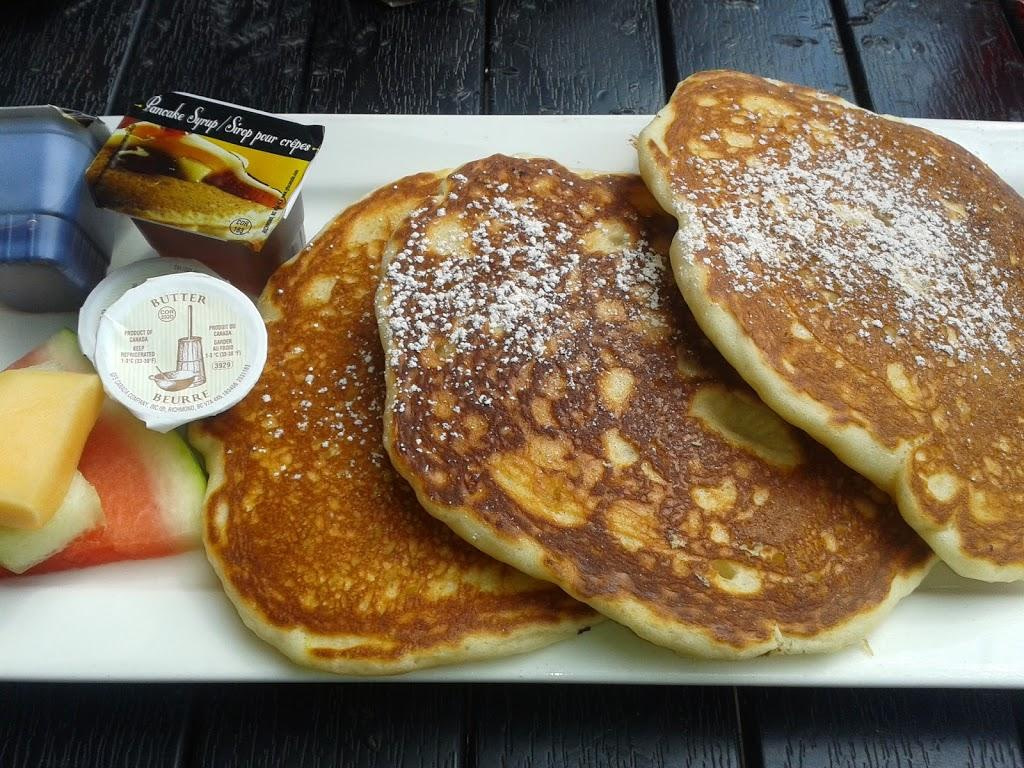 Pancakes at Black's Pub Whistler